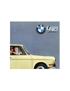 1963 BMW LS LUXUS BROCHURE NEDERLANDS