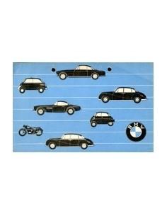 1957 BMW PROGRAMMA BROCHURE NEDERLANDS