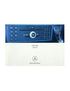 2008 MERCEDES BENZ AUDIO 50 INSTRUCTIEBOEKJE NEDERLANDS