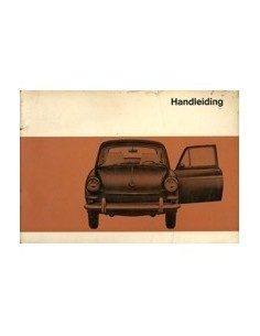 1968 VOLKSWAGEN 1600 INSTRUCTIEBOEK NEDERLANDS