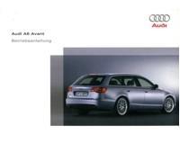 2005 audi a6 avant owners manual handbook german automotive rh autolit eu audi a6 2005 owners manual pdf audi a6 2005 user manual pdf
