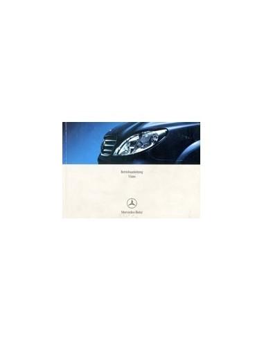 2006 mercedes benz viano owners manual handbook german automotive rh autolit eu mercedes viano owners manual viano owners manual pdf