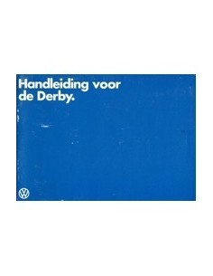 1980 VOLKSWAGEN DERBY OWNERS MANUAL DUTCH