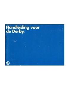 1978 VOLKSWAGEN DERBY INSTRUCTIEBOEKJE NEDERLANDS