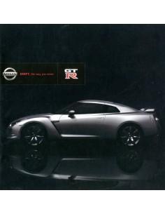 2007 NISSAN GT-R BROCHURE JAPANS