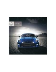 2012 NISSAN GT-R BROCHURE ENGELS USA