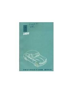 1950 FIAT 1400 INSTRUCTIEBOEKJE ENGELS