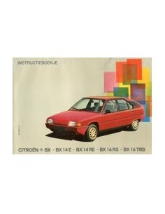 1983 citroen bx owner s manual dutch automotive literature europe rh autolit eu Citroen DS Citroen DS Interior