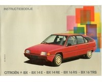 1983 citroen bx owner s manual dutch automotive literature europe rh autolit eu Citroen DS Citroen AX