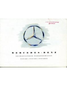 1954 MERCEDES BENZ PROGRAMMA BROCHURE DUITS