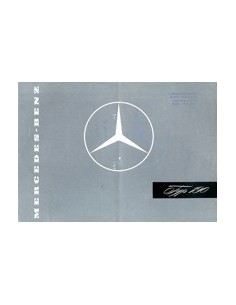 1957 MERCEDES BENZ 190 BROCHURE DUITS
