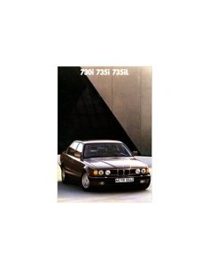 1988 BMW 7 SERIE BROCHURE NEDERLANDS