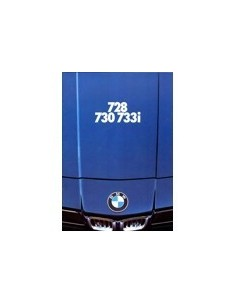 1977 BMW 7 SERIE BROCHURE NEDERLANDS