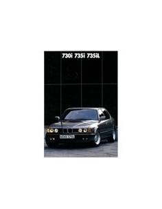 1988 BMW 7 SERIE BROCHURE DUITS