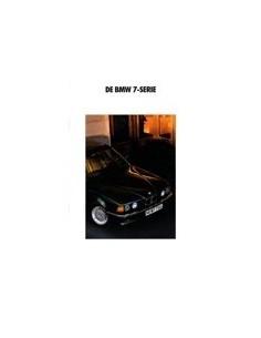 1991 BMW 7 SERIE BROCHURE NEDERLANDS