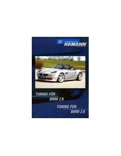 1999 BMW Z8 HAMANN TUNING BROCHURE DUITS ENGELS