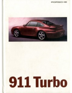 1995 PORSCHE 911 TURBO HARDCOVER BROCHURE ENGELS USA