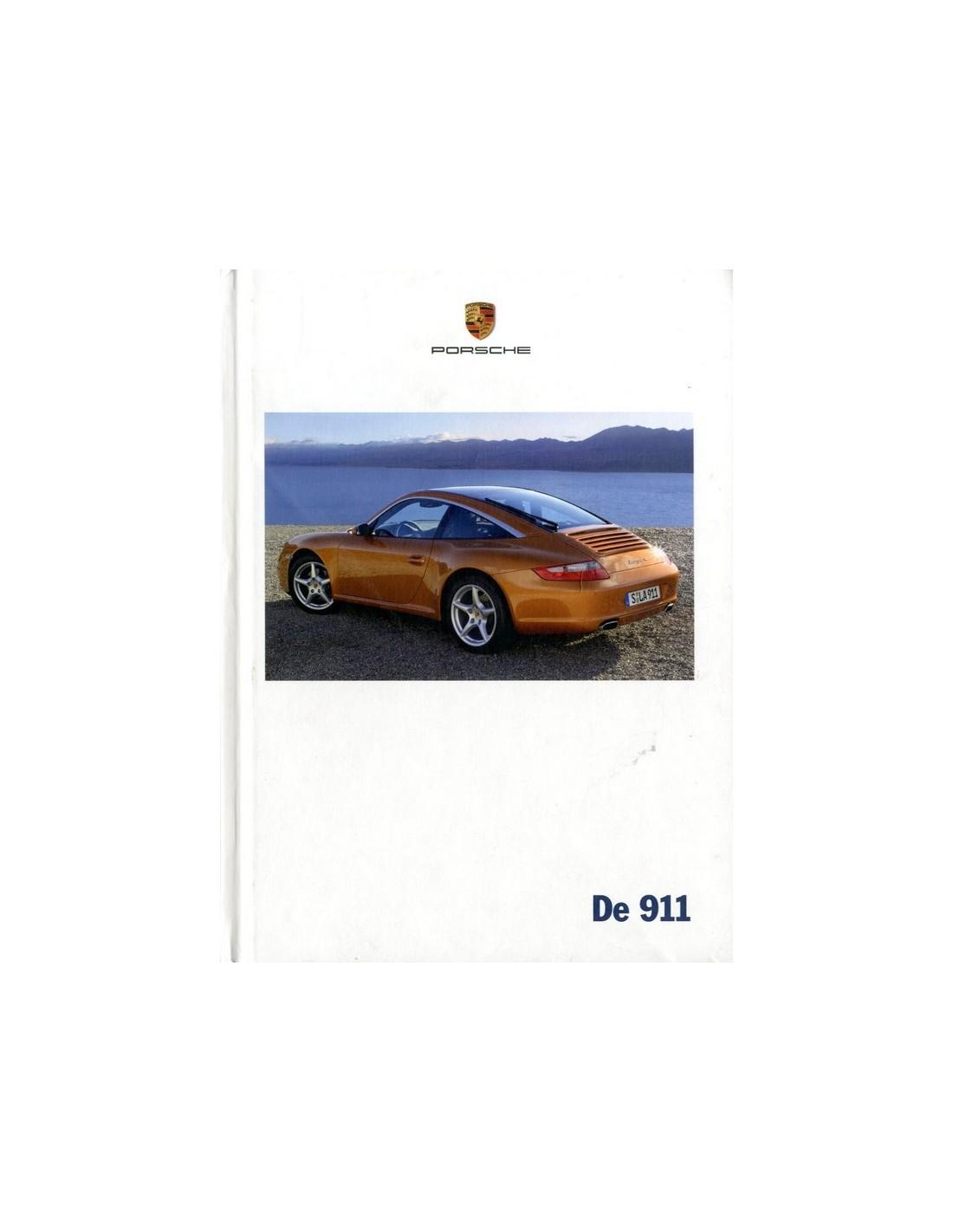 Bmw Z3 Brochure: 2007 PORSCHE 911 CARRERA & TARGA HARDCOVER BROCHURE NEDERLANDS