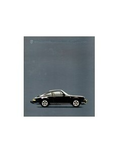 1985 PORSCHE 911 CARRERA & TURBO BROCHURE FRANS