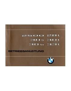 1975 BMW 2500 2800 3000 3.0 S SI INSTRUCTIEBOEKJE DUITS