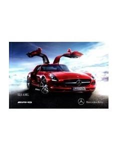 2011 MERCEDES BENZ SLS AMG BROCHURE DUITS