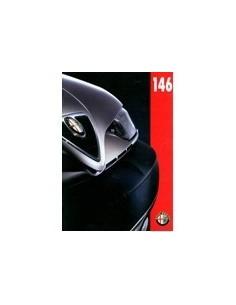 1995 ALFA ROMEO 146 BROCHURE NEDERLANDS