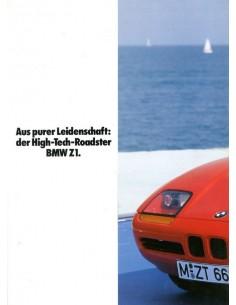 1987 BMW Z1 BROCHURE DUITS