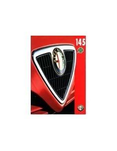 1995 ALFA ROMEO 145 QV BROCHURE FRANS