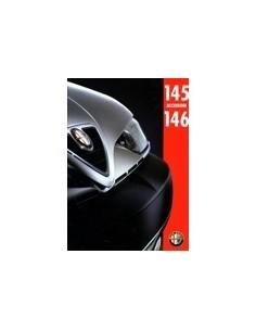 1995 ALFA ROMEO 145 & 146 ACCESSOIRES BROCHURE NEDERLANDS