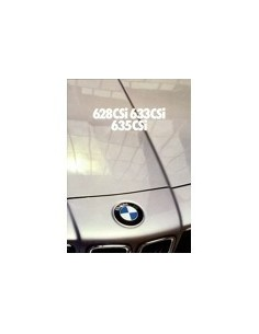 1980 BMW 6 SERIE BROCHURE NEDERLANDS