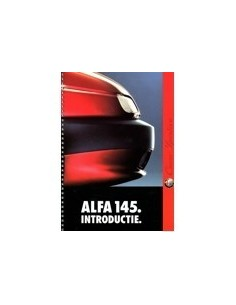 1994 ALFA ROMEO 145 MARKETING BROCHURE NEDERLANDS