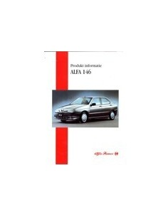 1995 ALFA ROMEO 146 INTERNE BROCHURE NEDERLANDS