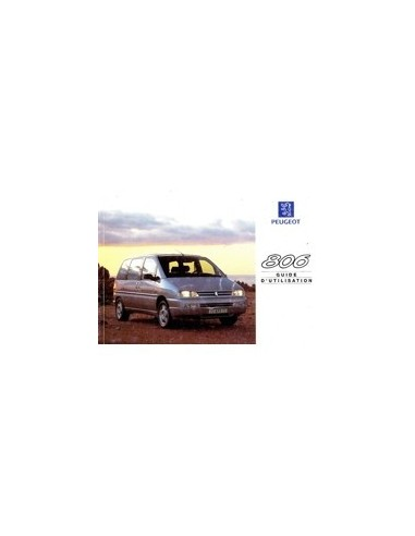 1998 peugeot 806 owners manual french automotive literature europe HDI Peugeot 806 Peugeot 107