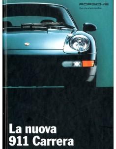 1994 PORSCHE 911 CARRERA HARDCOVER BROCHURE ITALIAANS