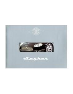 2003 SPYKER CARS BROCHURE ENGELS