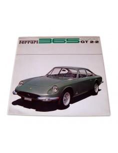 1968 FERRARI 365 GT 2+2 PININFARINA BROCHURE 19/68