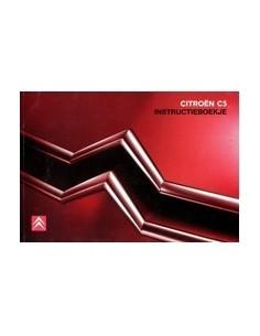 2006 CITROEN C5 INSTRUCTIEBOEKJE NEDERLANDS