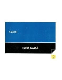 2009 RENAULT KANGOO INSTRUCTIEBOEKJE NEDERLANDS