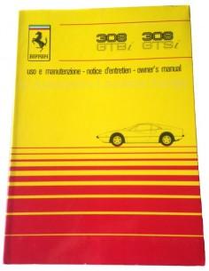 1980 FERRARI 308 GTBi GTSi INSTRUCTIEBOEKJE 195/80
