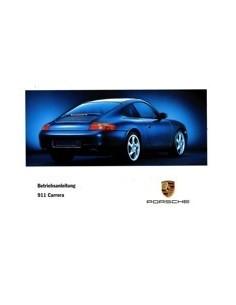 1999 PORSCHE 911 CARRERA INSTRUCTIEBOEKJE DUITS
