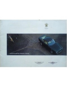 1990 ASTON MARTIN VIRAGE COUPE BROCHURE DUITS