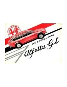 1974 ALFA ROMEO ALFETTA GT INSTRUCTIEBOEKJE ITALIAANS
