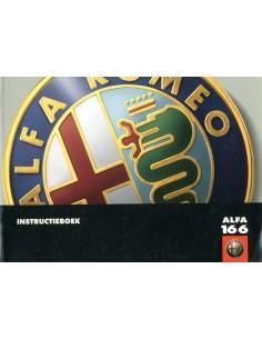 1998 ALFA ROMEO 166 INSTRUCTIEBOEKJE NEDERLANDS