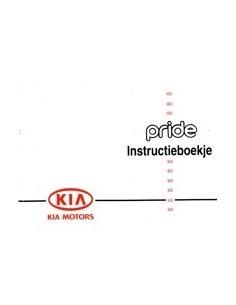 1997 KIA PRIDE INSTRUCTIEBOEKJE NEDERLANDS