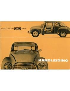 1961 DKW 1000 INSTRUCTIEBOEKJE NEDERLANDS