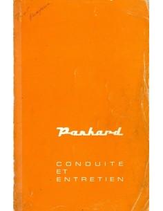 1963 PANHARD PL 17 INSTRUCTIEBOEKJE FRANS