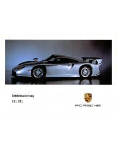 1998 PORSCHE 911 GT1 INSTRUCTIEBOEKJE DUITS