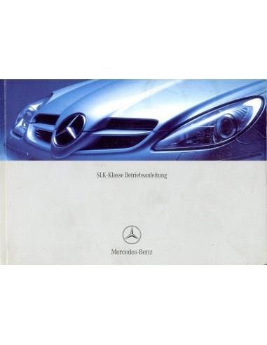 2003 mercedes benz slk class owners manual handbook german rh autolit eu mercedes slk repair manual mercedes clk service manual