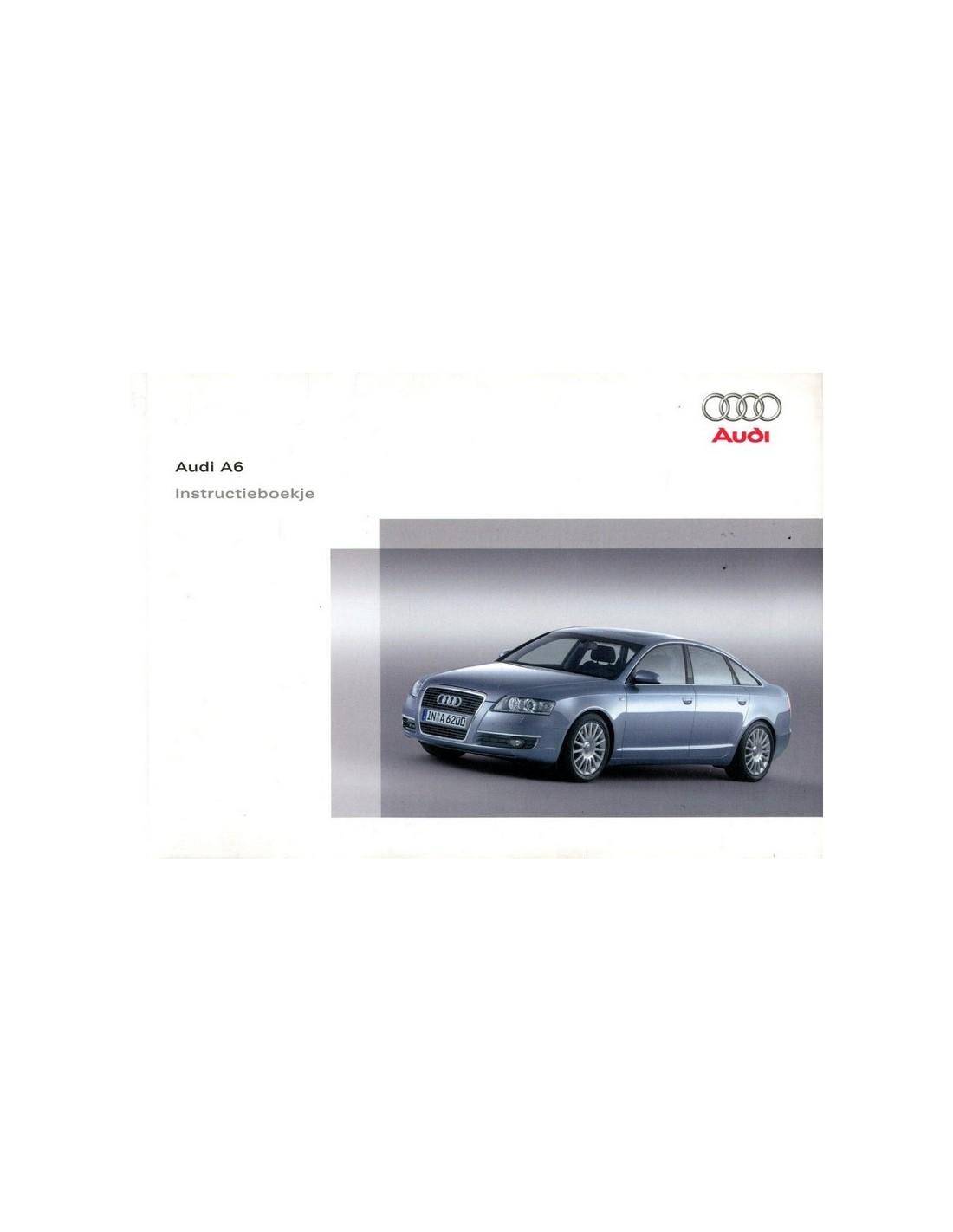 2005 audi a6 avant owners manual handbook dutch rh autolit eu 2005 audi a6 owners manual Audi A7 Manual