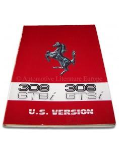 1981 FERRARI 308 GTSI & GTBI INSTRUCTIEBOEKJE US EDITIE 216/81